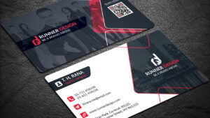 Free Corporate Business Card Photoshop Template for Free Bussiness Card Template