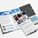Free Corporate Trifold Brochure Template In Psd, Ai & Vector For Tri Fold Brochure Template Illustrator Free