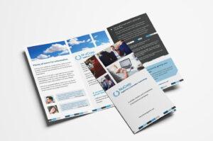 Free Corporate Trifold Brochure Template In Psd, Ai & Vector inside Tri Fold School Brochure Template