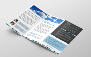 Free Corporate Trifold Brochure Template In Psd, Ai & Vector with regard to Fancy Brochure Templates