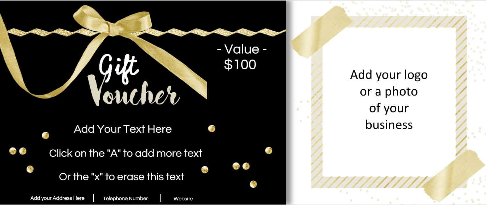 Free Custom Birthday Coupons - Customize Online & Print At Home Inside Custom Gift Certificate Template