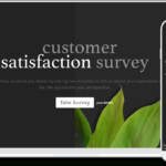 Free Customer Satisfaction Survey Template   Typeform Templates In Survey Card Template