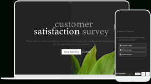 Free Customer Satisfaction Survey Template | Typeform Templates in Survey Card Template
