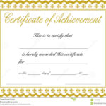 Free Customizable Printable Certificates Of Achievement Regarding Free Softball Certificate Templates