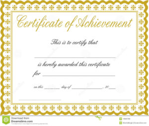 Free Customizable Printable Certificates Of Achievement throughout Softball Certificate Templates Free