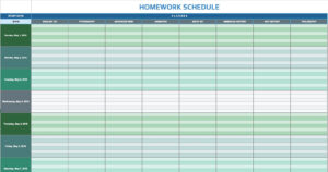 Free Daily Schedule Templates For Excel – Smartsheet Within Daily Report Sheet Template