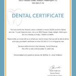 Free Dental Medical Certificate Sample | Psg | Free Dental Throughout Free Fake Medical Certificate Template