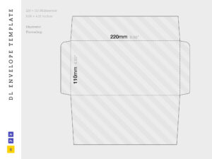 Free Dl Envelope Template with Dl Card Template