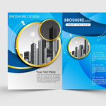Free Download Adobe Illustrator Template Brochure Two Fold Within Brochure Templates Ai Free Download