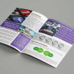 Free Download Bi Fold Social Media Company Brochure Template Pertaining To Social Media Brochure Template