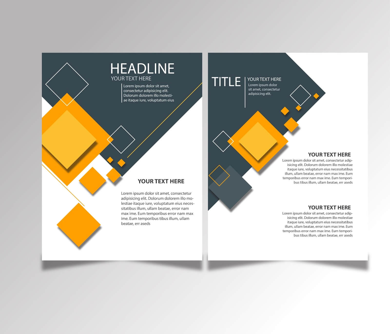 Free Download Brochure Design Templates Ai Files - Ideosprocess Intended For Brochure Template Illustrator Free Download