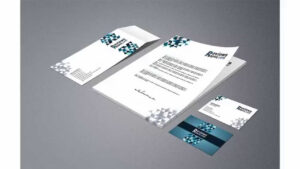 Free Download Business Card Letterhead Envelope Template within Business Card Letterhead Envelope Template