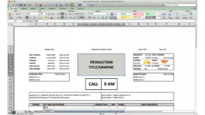 Free Download Call Sheet Template: The Only One You'll Ever Need throughout Film Call Sheet Template Word