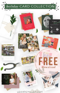 Free Download: Christmas Card Template Bundle For The pertaining to Christmas Photo Cards Templates Free Downloads