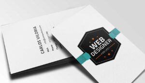 Free Download: Retro Business Card Psd | Webdesigner Depot intended for Web Design Business Cards Templates