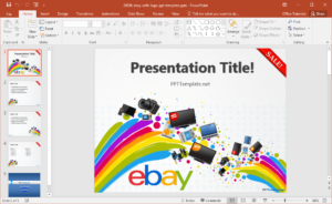 Free Ebay Powerpoint Template pertaining to What Is A Template In Powerpoint