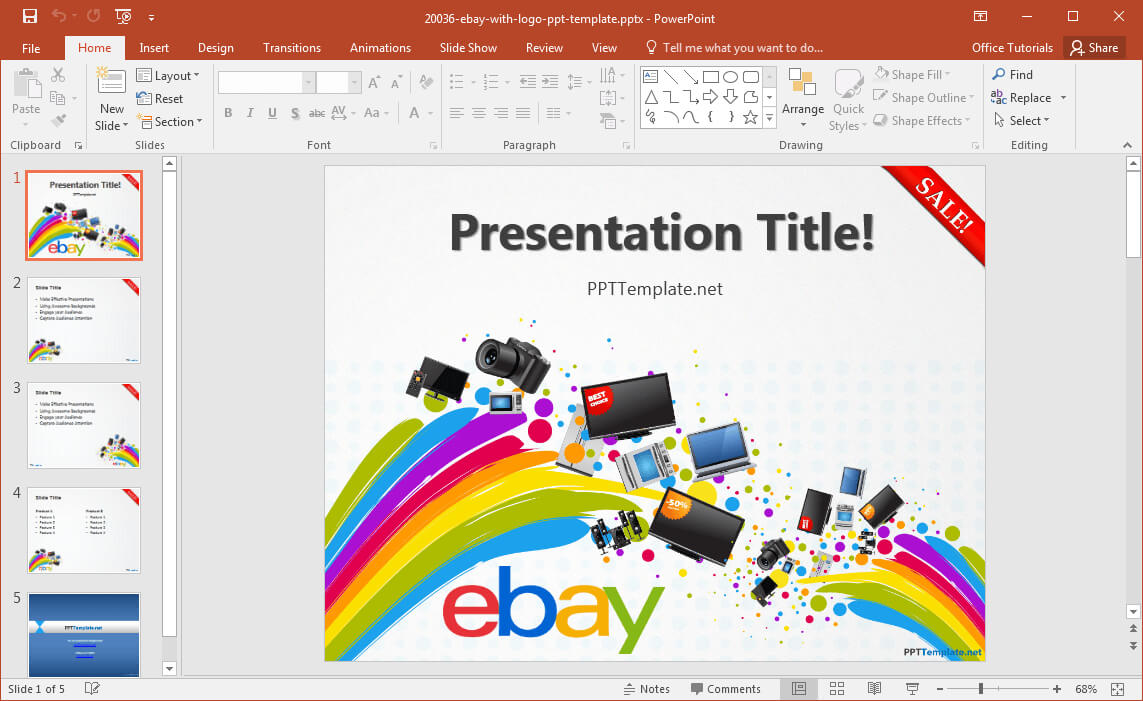 Free Ebay Powerpoint Template With Regard To Powerpoint Quiz Template Free Download