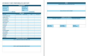 Free Employee Performance Review Templates | Smartsheet regarding Annual Review Report Template