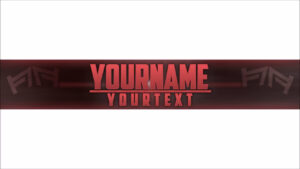 Free, Epic Youtube Banner/channel Art Template – [Gimp] + Download  [Legendary] With Regard To Youtube Banner Template Gimp