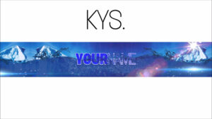 Free, Epic Youtube Banner/channel Art Template – [Gimp] + Download With Regard To Gimp Youtube Banner Template