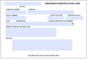 Free Fake Auto Insurance Card Template (12) | Payroll Check with regard to Auto Insurance Id Card Template