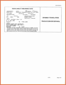 Free Fake Auto Insurance Card Template (7) – Cover Letter within Fake Auto Insurance Card Template Download