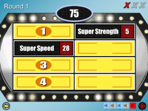 Free Family Feud Powerpoint Templates For Teachers With Regard To Quiz Show Template Powerpoint