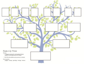 Free Family Tree Template To Print – Google Search with regard to Blank Family Tree Template 3 Generations