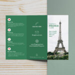 Free Fold 009 Download France Travel Top Brochure Ideas Regarding Tri Fold Brochure Publisher Template