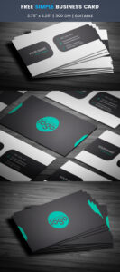 Free Generic Business Card Template On Student Show for Generic Business Card Template