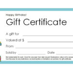 Free Gift Certificate Templates You Can Customize with Gift Certificate Template Publisher