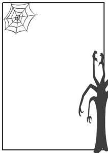 Free Halloween Page Borders, Download Free Clip Art, Free inside Free Halloween Templates For Word