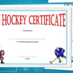 Free Hockey Certificate Templates For Download Pertaining To Hockey Certificate Templates