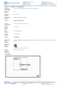 Free Incident Report Template (Better Than Word/excel/pdf within Incident Report Register Template