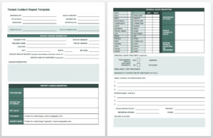Free Incident Report Templates & Forms | Smartsheet in It Incident Report Template