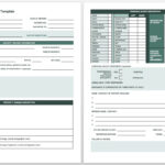Free Incident Report Templates & Forms | Smartsheet Pertaining To Vehicle Accident Report Template