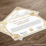 Free Indesign Certificate Template #1   Free Indesign for Indesign Certificate Template