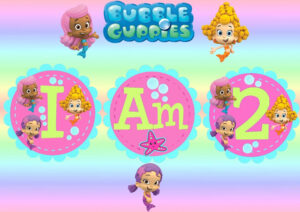 Free Invitations Template Bubble Guppies Invitations With Bubble Guppies Birthday Banner Template
