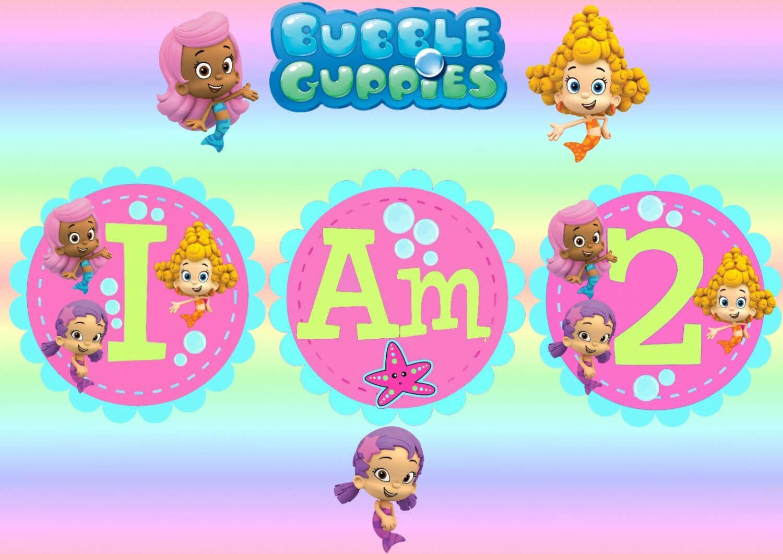 Free Invitations Template Bubble Guppies Invitations With Bubble Guppies Birthday Banner Template