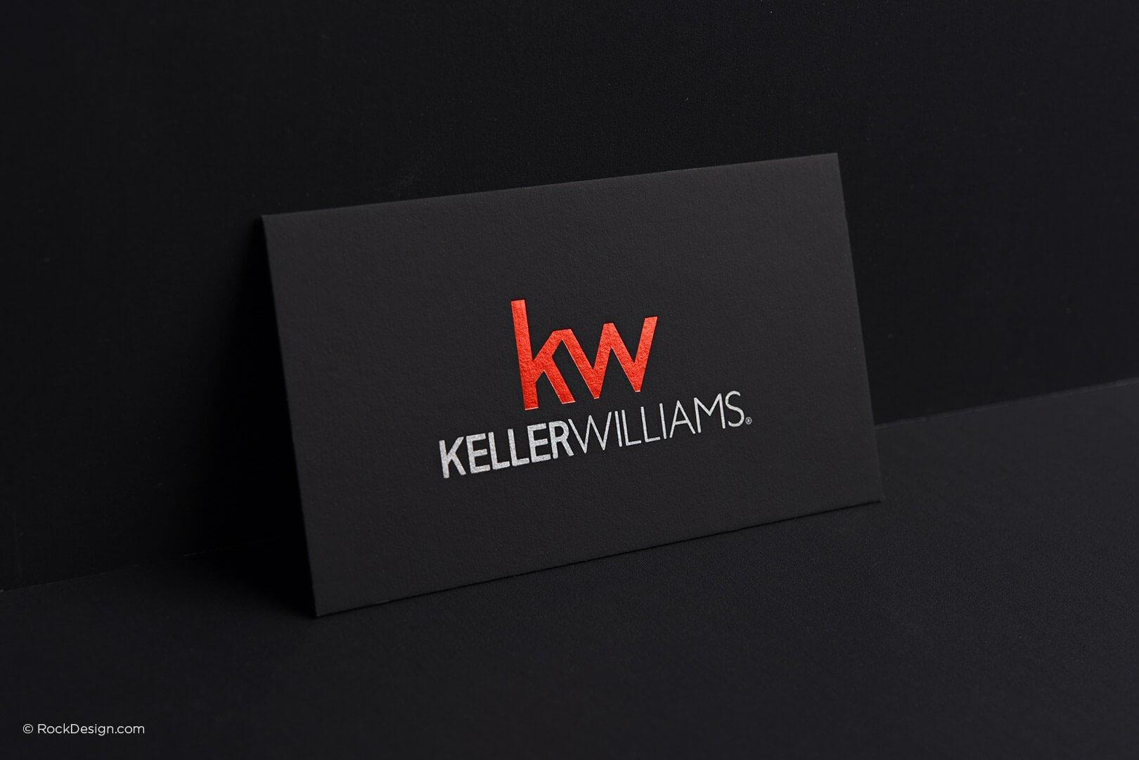 Free Keller Williams Business Card Template With Print In Keller Williams Business Card Templates