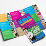 Free Kid's Camp Flyer & Brochure Template In Psd, Ai With Regard To Summer Camp Brochure Template Free Download