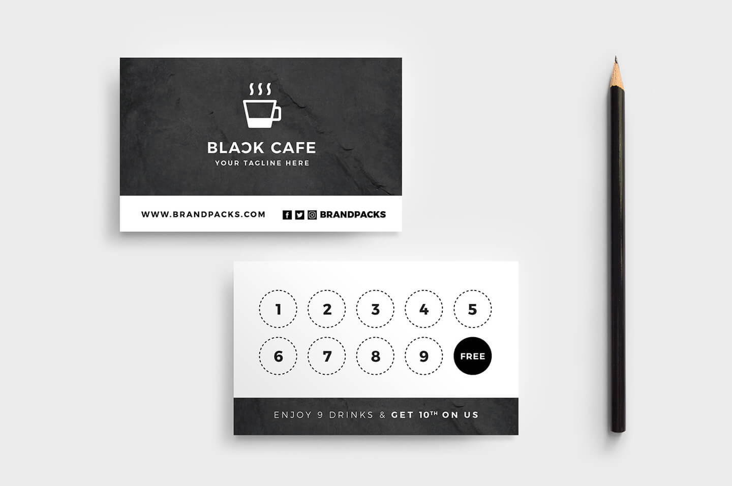 Free Loyalty Card Templates – Psd, Ai & Vector – Brandpacks For Loyalty Card Design Template
