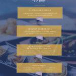 Free Menu Maker | Menu Creator | Visme Throughout Frequent Diner Card Template
