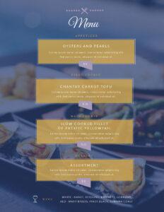 Free Menu Maker   Menu Creator   Visme throughout Frequent Diner Card Template
