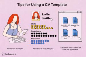Free Microsoft Curriculum Vitae (Cv) Templates with How To Make A Cv Template On Microsoft Word