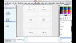 Free Microsoft Word Place Card Template – Dlword with Ms Word Place Card Template