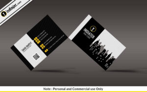 Free Modern Real Estate Business Card Psd Template – Indiater with Real Estate Business Cards Templates Free