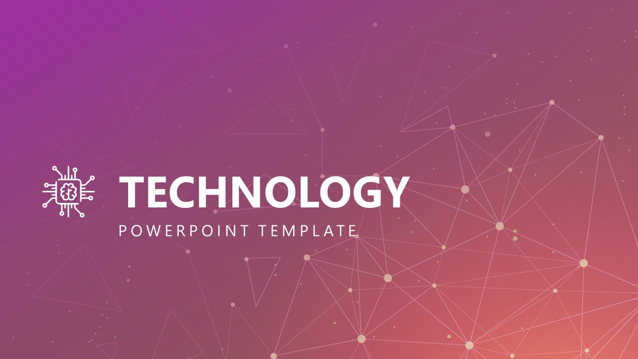Free Modern Technology Powerpoint Template Throughout Powerpoint Templates For Technology Presentations