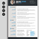 Free Ms.word Resume And Cv Template | Collateral Design Intended For Free Printable Resume Templates Microsoft Word