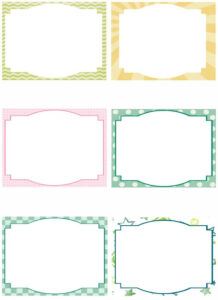 Free Note Card Template. Image Free Printable Blank Flash throughout 3X5 Blank Index Card Template